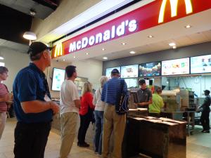 McDonalds at Masada